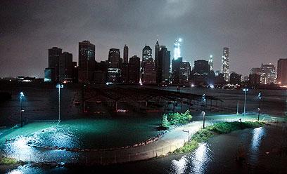 ניו יורק בסופה (צילום: AP) (צילום: AP)
