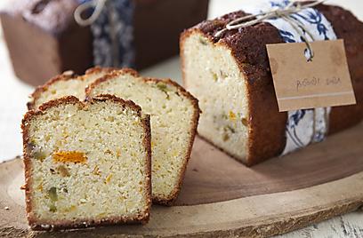 עוגת תפוז פיסטוק (צילום: שירן כרמל)