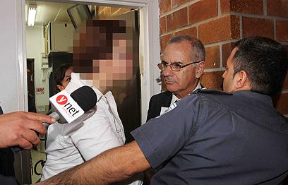 """הארכת מעצרה של ד""""ר זקוטסקי. תמונתה עדיין אסורה לפרסום (צילום: עידו ארז) (צילום: עידו ארז)"""