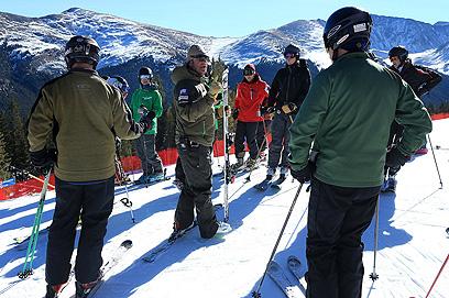 ויתרו על משחקי החורף האולימפיים בגלל עלויות גבוהות. הר קופר, קולורדו (צילום: AFP) (צילום: AFP)