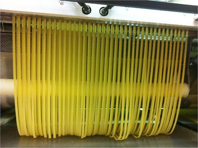 """גם פסטה מייצרים כאן. מפס הייצור של מפעל הפסטה הגדול בעולם של """"ברילה"""", הממוקם בלב """"עמק המזון"""" (צילום: סטודיו סליס ) (צילום: סטודיו סליס )"""