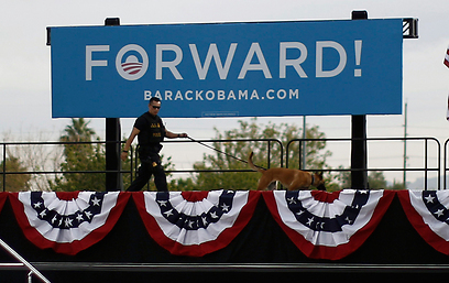 Pro-Obama rally in Las Vegas (Photo: Reuters)
