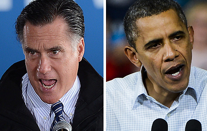 Same policies? Romney (L) and Obama (Photo: EPA, AFP)