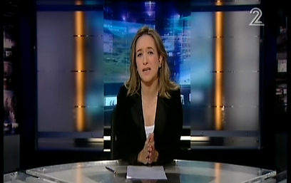 הוקפצה. אילנה דיין  (צילום: ערוץ 2)