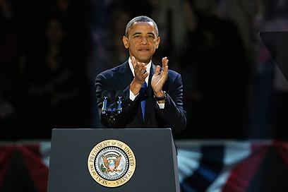 הבטיח לשתף פעולה עם יריבו למרוץ. אובמה  (צילום: AFP) (צילום: AFP)