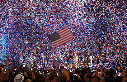 Election victory celebration in Chicago (Photo: Reuters)