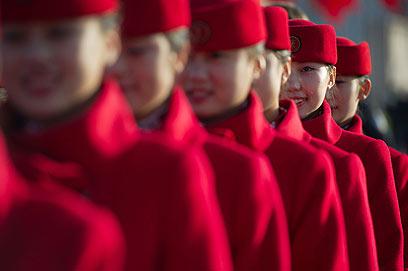 האירוע מספר 1 במדינה הקומוניסטית (צילום: AP) (צילום: AP)