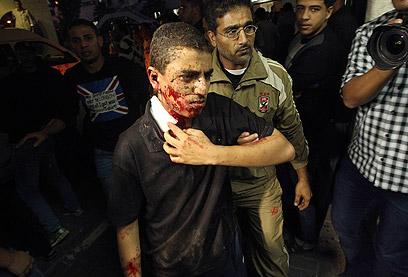 """תקיפת צה""""ל ברצועת עזה, לאחר הירי על הג'יפ (צילום: רויטרס) (צילום: רויטרס)"""
