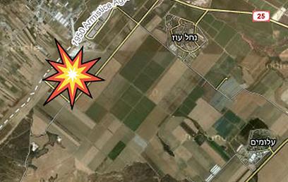 מפת אזור התקרית (צילום: Google Maps) (צילום: Google Maps)