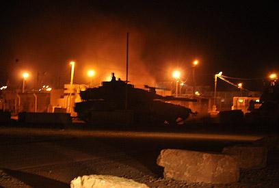 לילה מתוח בדרום: כוננות, שיגורים ונפילות (צילום: זאב טרכטמן) (צילום: זאב טרכטמן)