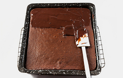 מנצחת, אבל שווה להשקיע וגם לזגג (ר' מתכון בהמשך). עוגת שוקולד (צילום: יוסי סליס) (צילום: יוסי סליס)