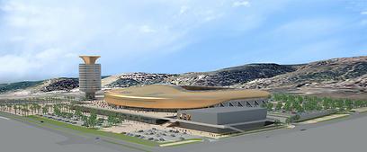 הדמיה של אצטדיון סמי עופר בחיפה (הדמיה: החברה הכלכלית לחיפה) (הדמיה: החברה הכלכלית לחיפה)