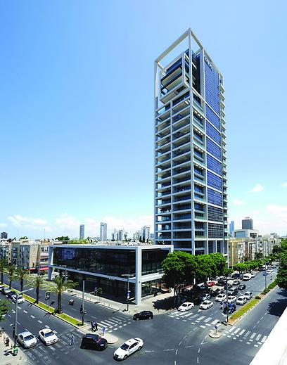מגדל G TEL AVIV. שרי אריסון קנתה (צילום: אסף הבר) (צילום: אסף הבר)
