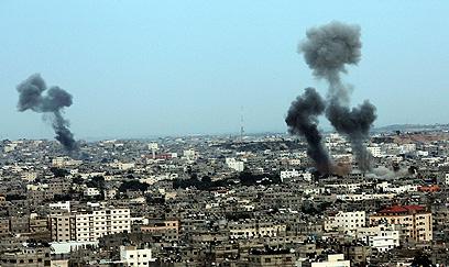IAF strike in Gaza (Photo: EPA)