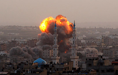 IDF bombing, Operation Pillar of Defense (Photo: AP)
