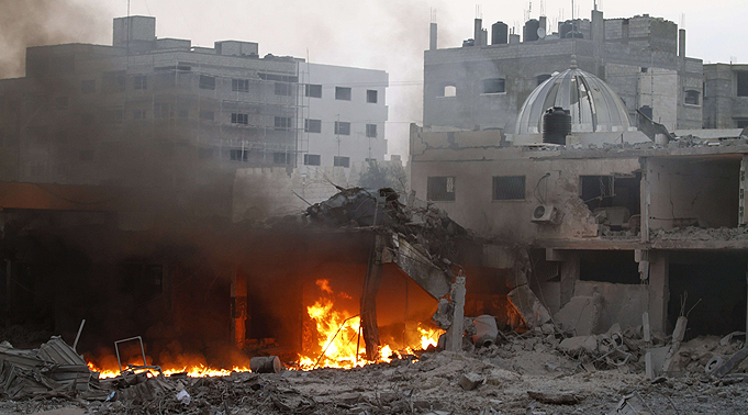 Israeli strike in Gaza (Photo: AFP)
