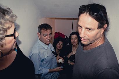 באמצע המפגש הייתה אזעקה וכולם ירדו למקלט (צילום: דניאל צ׳קלוב) (צילום: דניאל צ׳קלוב)