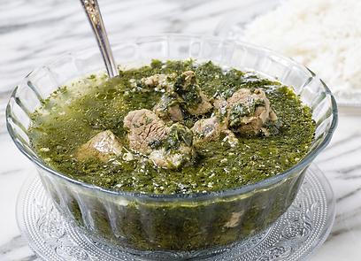 ירוק זה נפלא. מרק מלוחייה (צילום: בועז לביא) (צילום: בועז לביא)