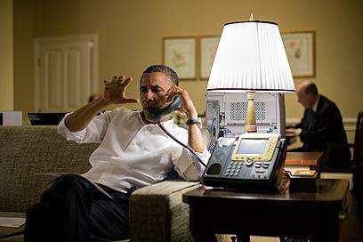 הלך עם האחים המוסלמים. הנשיא אובמה (צילום: AFP PHOTO / THE WHITE HOUSE / Pete Souza)