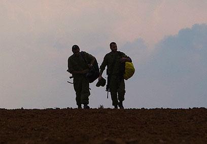 חיילים במבצע עמוד ענן (ארכיון) (צילום: רויטרס) (צילום: רויטרס)