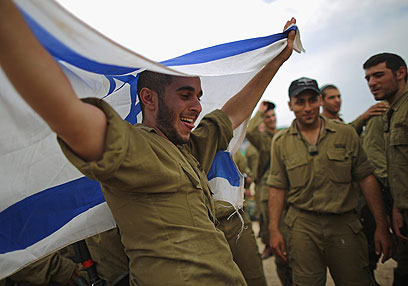 IDF soldiers day after Israe-Hamas truce announced (Photo: Gettyimages) (Photo: Gettyimages)