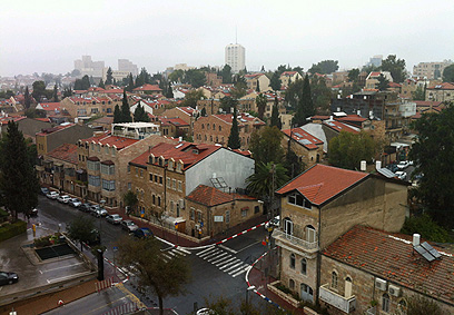 חורף ירושלמי (צילום: איתי אברהם) (צילום: איתי אברהם)