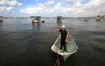 בישראל אישרו כי הקלו על הדייגים (צילום: AFP) (צילום: AFP)