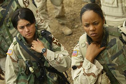 חיילות אמריקניות בעיראק (ארכיון)                    (צילום: AFP) (צילום: AFP)