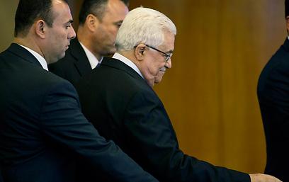 נשיא הרשות הפלסטינית בניו-יורק (צילום: AP) (צילום: AP)
