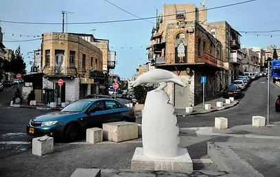 """""""ברבור לבן"""" של יונתן אופק בוואדי ניסנאס (צילום: מור אלנקוה) (צילום: מור אלנקוה)"""