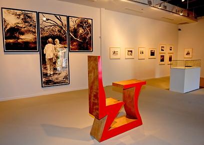 תערוכות חדשות במוזיאון העיר המושבה הגרמנית, חיפה (צילום: צבי רוגרץ) (צילום: צבי רוגרץ)