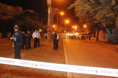 רצח כפול על רקע רומנטי בבאר שבע (צילום: הרצל יוסף) (צילום: הרצל יוסף)