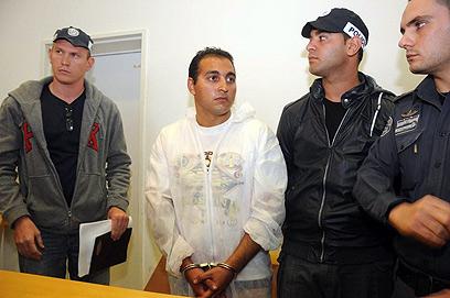 יבגני בגץ בהארכת המעצר (צילום: הרצל יוסף) (צילום: הרצל יוסף)