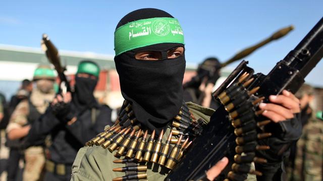 Hamas militants (reuters)