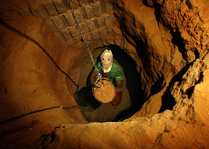 Gaza tunnel (Archive photo: AP)