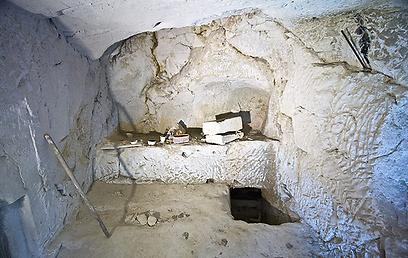 ארכאולוגים מצאו במערה 2 חדרים. מערת אבה (צילום: רון פלד)