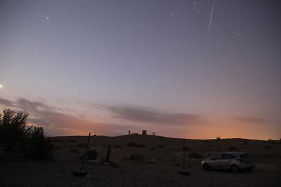 מראה קסום בשמיים (צילום: בן נתנאל) (צילום: בן נתנאל) (צילום: בן נתנאל)