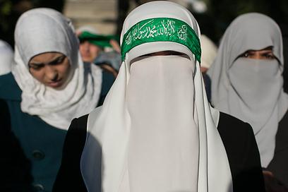 """""""החוקה שלנו היא הקוראן"""" (צילום: אוהד צויגנברג ) (צילום: אוהד צויגנברג )"""