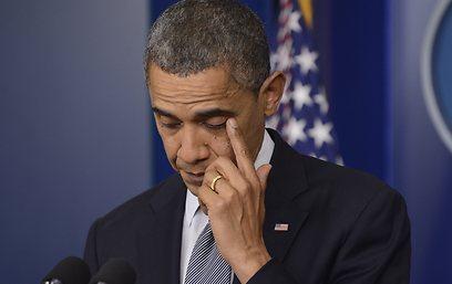 """מוביל חקיקה להגבלת הנשק בארה""""ב. אובמה (צילום: EPA) (צילום: EPA)"""