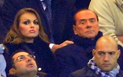 ברלוסקוני ופסקלה מבלים יחד (צילום: AFP) (צילום: AFP)