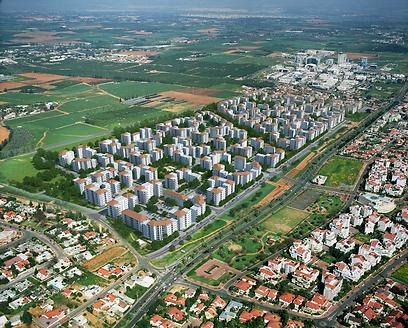 הדמיית מבט עילי על השכונה. אכלוס צפוי תוך 3 שנים (צילום: באדיבות אליקים אדריכלים) (צילום: באדיבות אליקים אדריכלים)