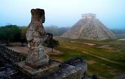 כאן הכל התחיל. מקדש של בני המאיה במקסיקו (צילום: רויטרס)