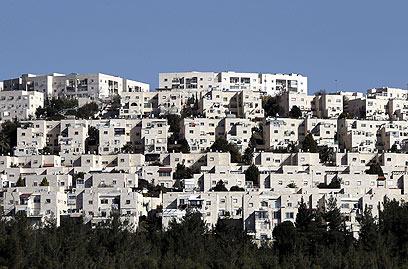 Jerusalem neighborhood of Ramat Shlomo (Photo: AFP)