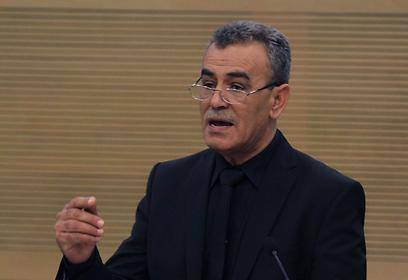 חבר הכנסת זחאלקה. מסתייג מנוהל הדיווח לוועדה, אבל מכבד אותו (צילום: גיל יוחנן) (צילום: גיל יוחנן)