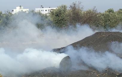 עשן המפחמות (צילום: באדיבות מטה המאבק בעשן המפחמות)