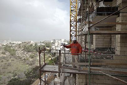 """בנייה בגילה. """"האירופאים כועסים ומרירים כלפי מדיניות ישראל"""" (צילום: AFP) (צילום: AFP)"""