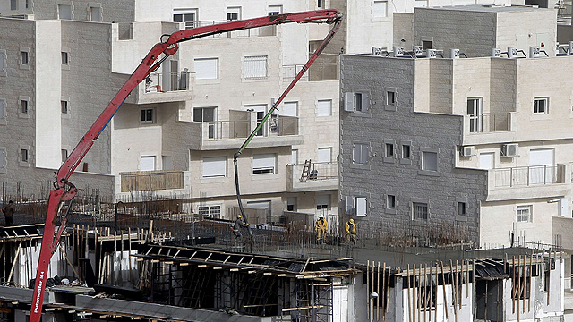 Construction in east Jerusalem (Photo: AFP) (Photo: AFP)