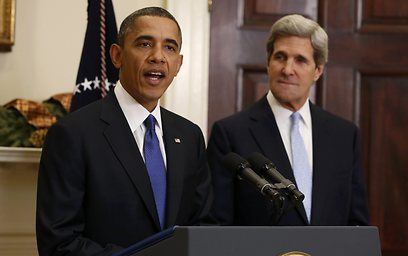 Coming in the spring. Obama and Kerry (Archive photo: Reuters)