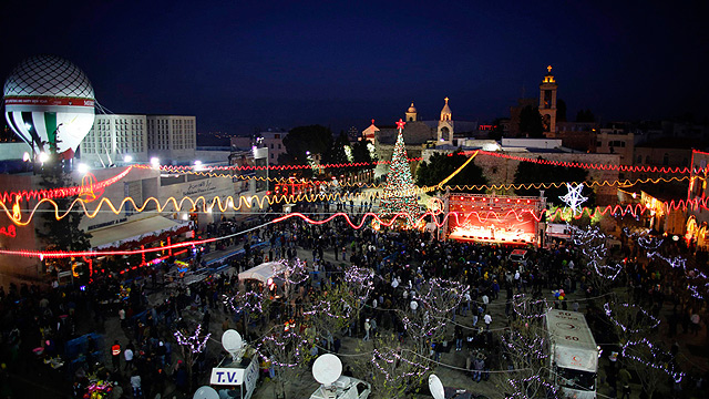 Christmas celebrations in Bethlehem in 2012 (Photo: Reuters)