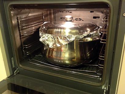 נכנס לתנור (צילום: רפי אהרונוביץ') (צילום: רפי אהרונוביץ')